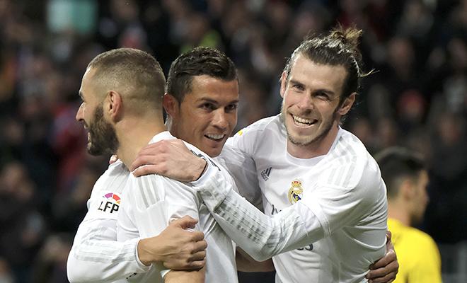 Mặt trái của 'BBC': Chỉ Ronaldo đá hay ở châu Âu