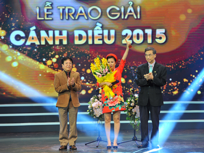 Trao giải Cánh diều 2015: Phim 'Trúng số' lập hattrick, 'Tuổi thanh xuân' giành cú đúp