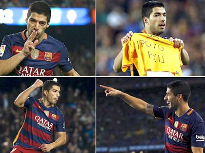 Không thể cản Luis Suarez giành Chiếc giày Vàng