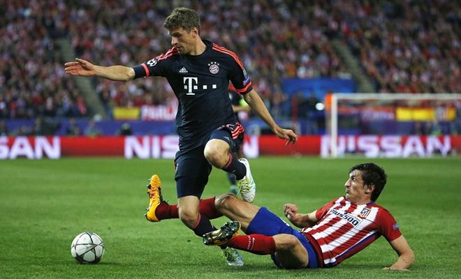 Thomas Mueller không hài lòng với Guardiola vì phải ngồi dự bị