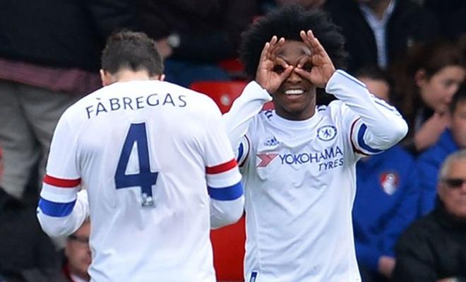 Willian có thể rời Chelsea tới Trung Quốc thi đấu