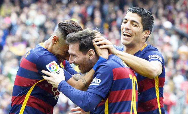 Cuộc đua vô địch Liga: MSN hay trở lại, Real không có cửa vượt mặt Barca?