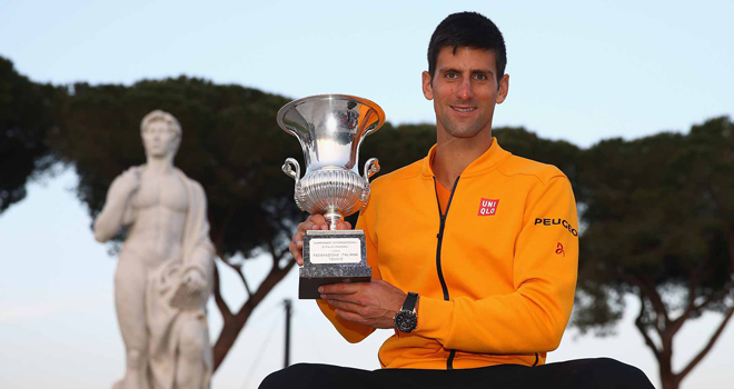 Tennis  ngày 11/5: Federer có thể rút khỏi Rome. Djokovic sắp cán mốc 100 triệu USD tiền thưởng