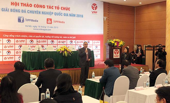 TGĐ VPF Cao Văn Chóng: 'Sportradar không phải cây đũa thần'