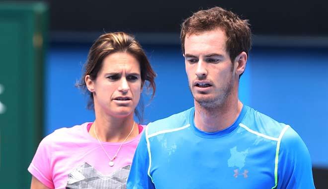 Andy Murray chia tay HLV Amelie Mauresmo: Cuộc chia tay được báo trước
