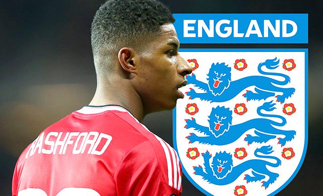 Đội tuyển Anh: Rashford & đặc ân từ Roy Hodgson