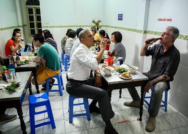 Bữa tối của Tổng thống Obama với bún chả Hà Nội sẽ lên kênh CNN
