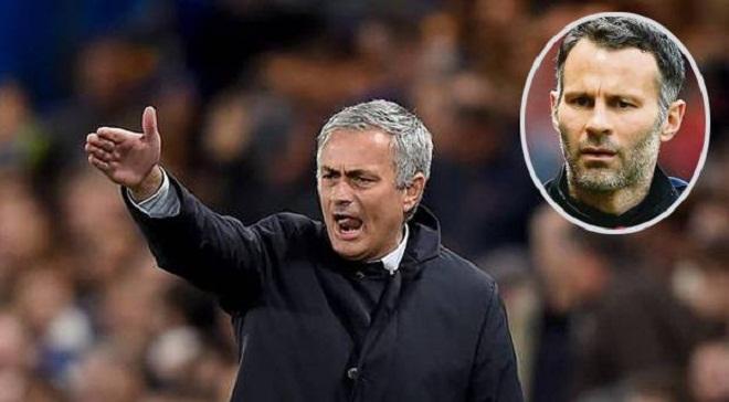 Ryan Giggs sang Dubai trong khi Man United đàm phán với Mourinho
