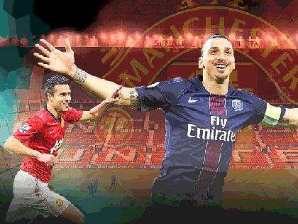 Ibrahimovic sẽ là 'Van Persie mới' của Man United