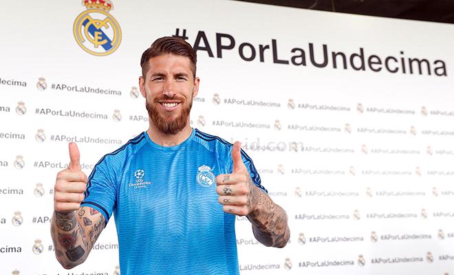 Sergio Ramos thú nhận ngại Griezmann nhất
