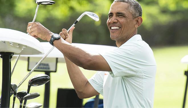 Obama và golf