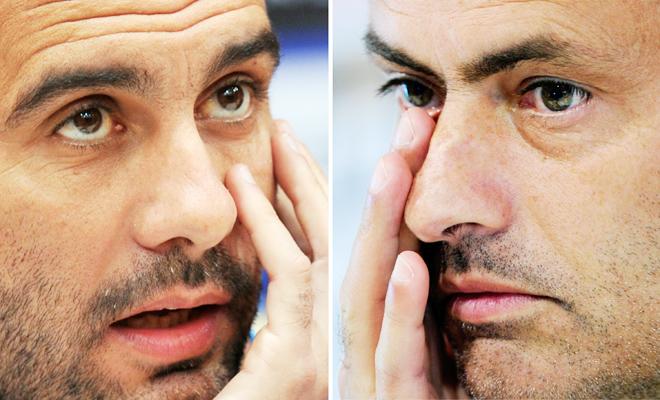 Mourinho và Pep, hai mặt của một đồng xu