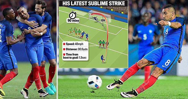 Quên Ronaldo đi, Payet mới là vua đá phạt