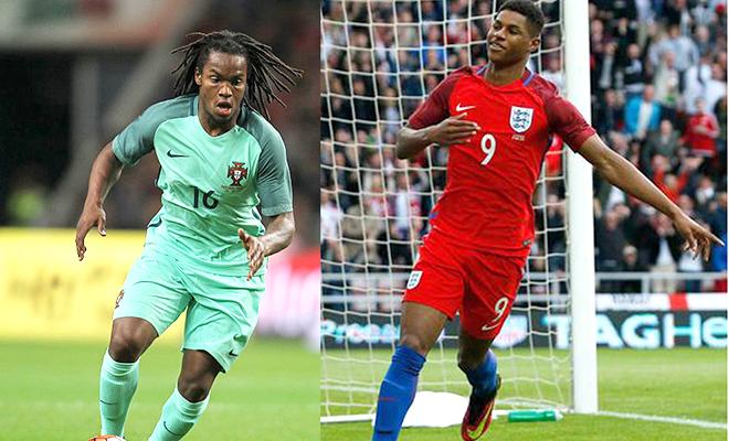 Marcos Rashford và Renato Sanches: Những 'sao mai' của EURO 2016