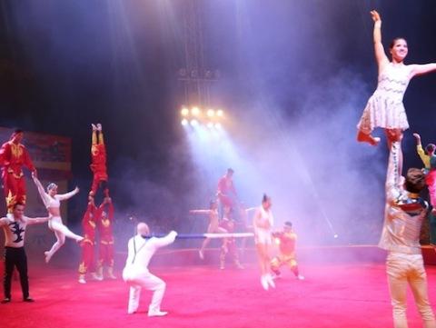 Việt Nam gây ấn tượng mạnh tại Liên hoan Xiếc quốc tế 2016