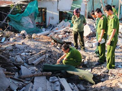 Nguyên nhân vụ nổ tại đảo Phú Quý có thể là do thuốc TNT hỗn hợp