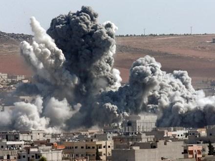 Máy bay Nga ồ ạt oanh kích thành phố Aleppo của Syria