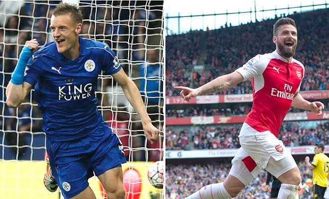 Vardy và Giroud: Ai xuất sắc hơn?