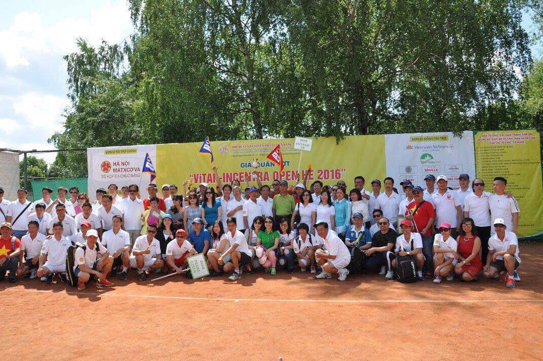 Khai mạc Giải quần vợt ViTAR-INCENTRA OPEN HÈ 2016