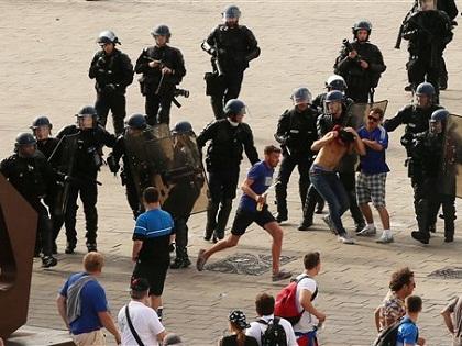 EURO 2016: Cảnh sát Pháp muốn trục xuất 50 CĐV Nga