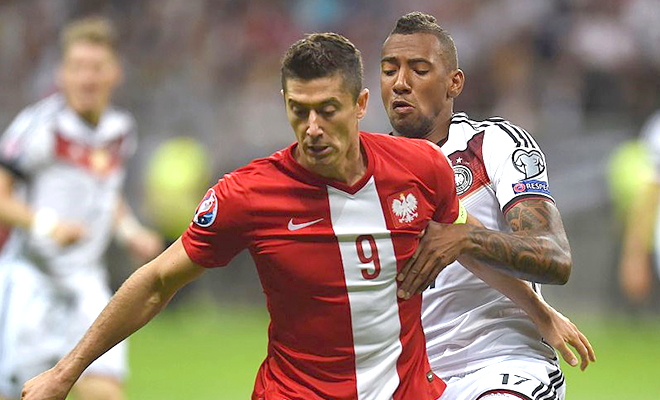 02h00 ngày 17/6, Đức – Ba Lan: 'Ba Lan không chỉ có mỗi Lewandowski'