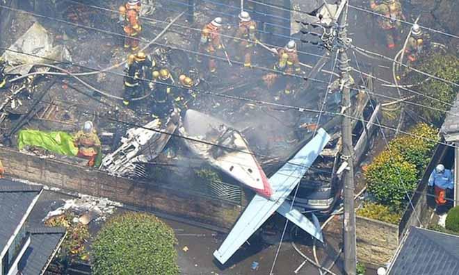 Rơi máy bay tại Hàn Quốc, 3 người thiệt mạng