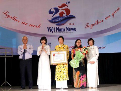 'Việt Nam News' cần trở thành nhật báo tiếng Anh quốc gia