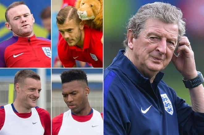 Roy Hodgson sẽ thay một nửa đội hình ở trận gặp Slovakia