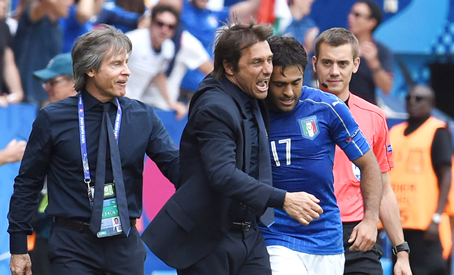 Điểm giới hạn của tuyển Italy