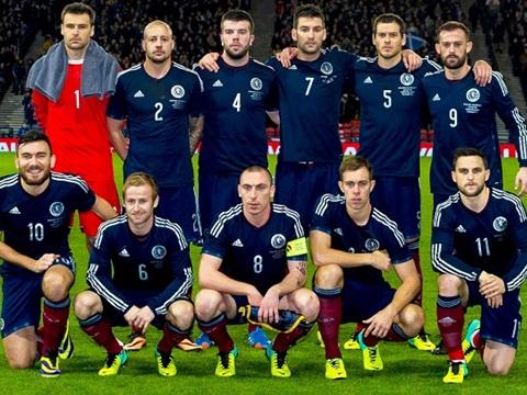 Scotland bị 'đá xoáy' khi Anh, Xứ Wales, CH Ireland, Bắc Ireland vào vòng 1/8 EURO