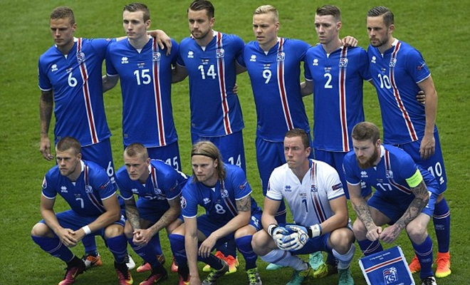 Pháp chưa từng thua Iceland trong lịch sử