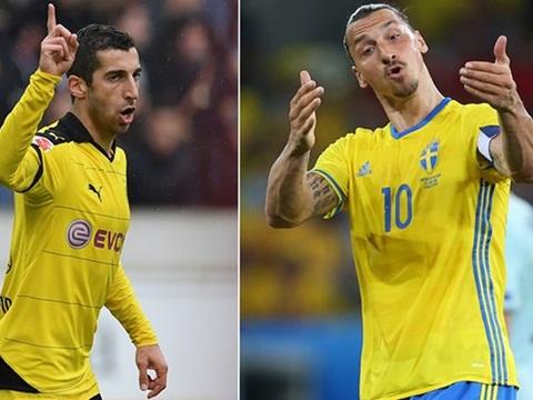 Man United đạt thỏa thuận với Mkhitaryan, chính thức có Ibrahimovic ngày mai