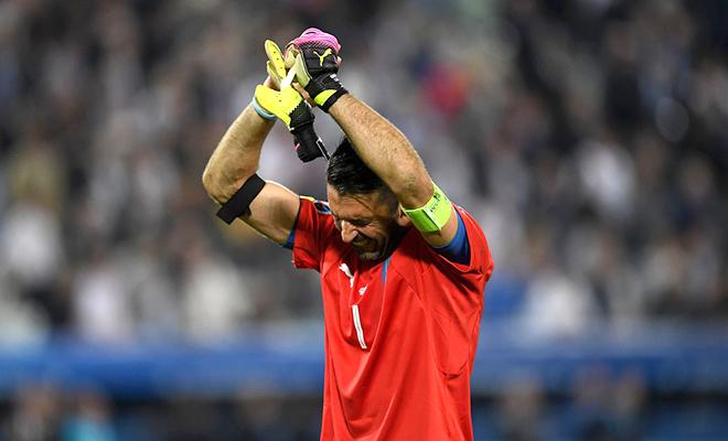 Tuyển Italy tạm biệt EURO 2016: Tận cùng của những giới hạn