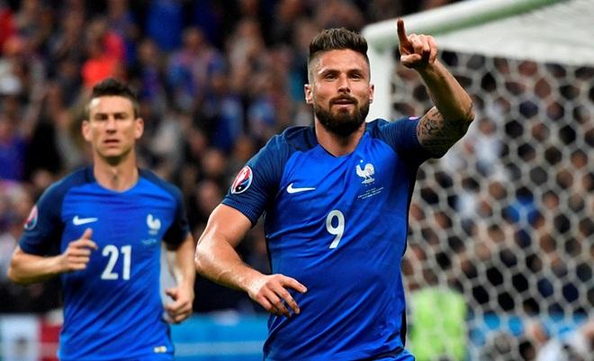 Chỉ cần 45 phút trước Iceland, Pháp đã đi vào lịch sử EURO
