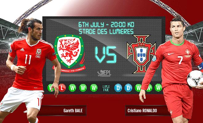 02h00 ngày 07/07, Bồ Đào Nha - Xứ Wales: Ngày Bale vượt mặt Ronaldo