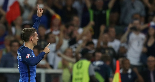 Griezmann giành danh hiệu Vua phá lưới EURO 2016