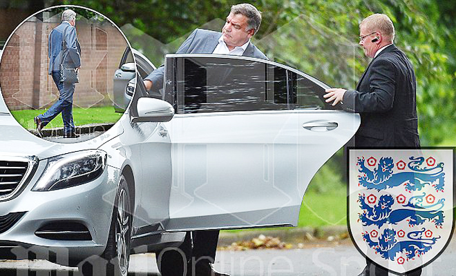 NÓNG: Sam Allardyce sắp được bổ nhiệm làm HLV trưởng tuyển Anh