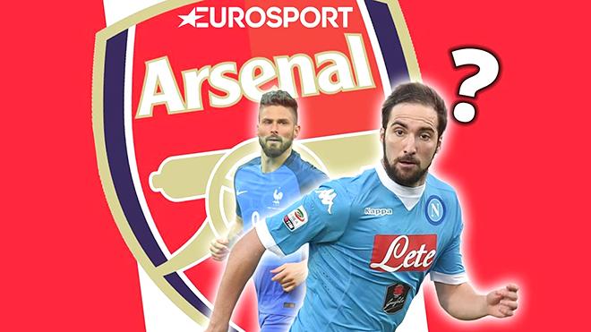 Arsenal dự kiến đổi Giroud cộng tiền lấy Higuain: Sẽ là một nước đi thiếu khôn ngoan