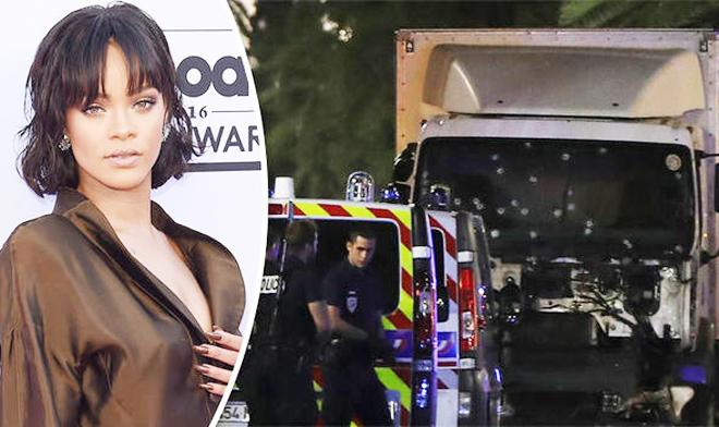 TIẾT LỘ: Rihanna thoát chết sau vụ khủng bố ở Nice
