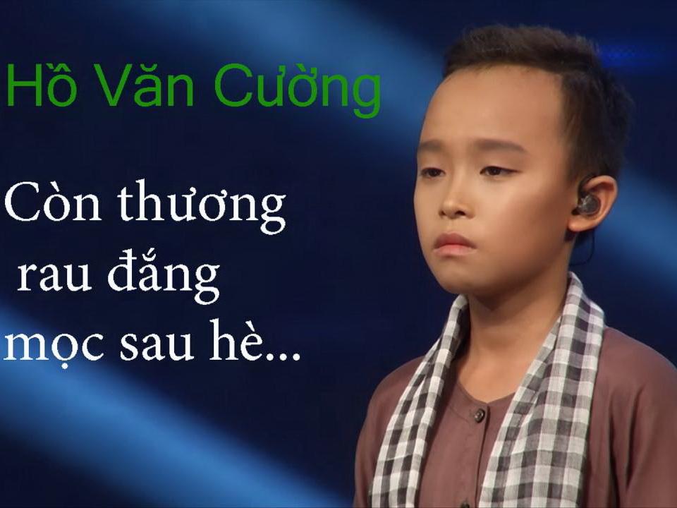 VIDEO: Nghe Quán quân Hồ Văn Cường 2 lần 'thương đắng' tại Thần tượng Âm nhạc nhí