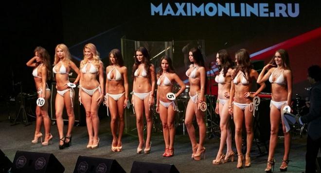 CHÙM ẢNH: 'Nàng tiên cá' gợi cảm của Nga giành ngôi Hoa hậu Maxim 2016