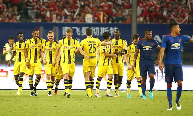 Man United thua Dortmund: Chỉ là giao hữu, nhưng đáng lo