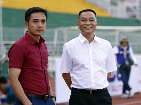 Chủ tịch CLB Sài Gòn Nguyễn Giang Đông: 'Tôi không quan tâm đến án phạt Bửu Ngọc'