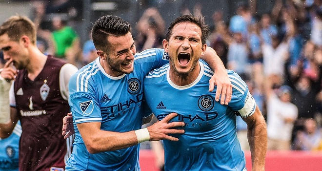 Frank Lampard đi vào lịch sử với hat-trick ghi cho New York City