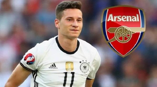 CHUYỂN NHƯỢNG ngày 5/8: Draxler có thể đến Arsenal. Juve sắp mua Matuidi thay Pogba