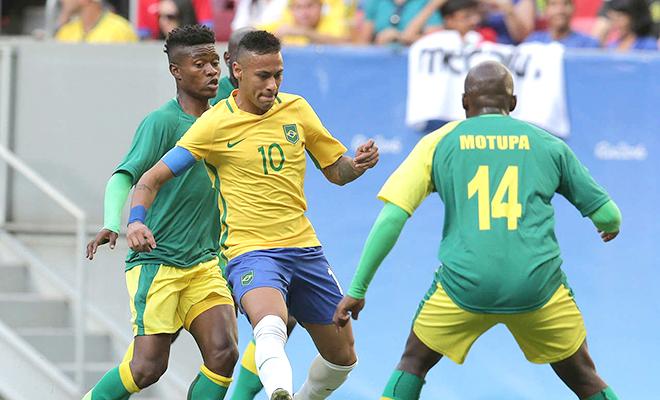 Đội Olympic Brazil: Neymar oằn mình với sứ mệnh lịch sử