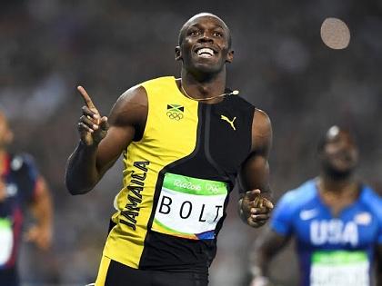 KHOẢNH KHẮC bứt tốc ngoạn mục giành HCV Olympic của Usain Bolt