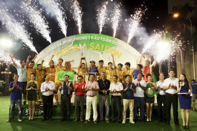 Đinh Gia FC vô địch Cúp Bia Sài Gòn tại Đồng Nai