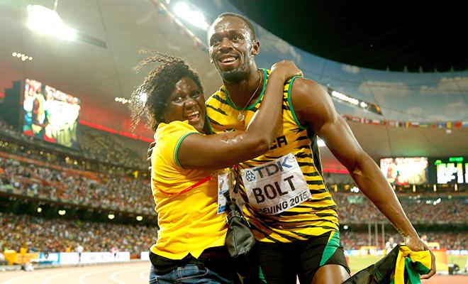 Sau HCV, Usain Bolt bị giục… lấy vợ