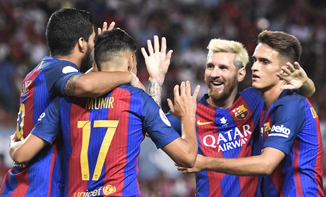 Barca chạm tay vào Siêu Cúp Tây Ban Nha: 'Quái vật' của Luis Enrique